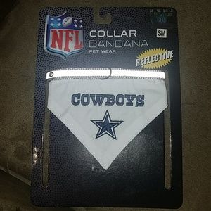 NWT NFL Dallas Cowboys PET Collar Bandana, sz SM